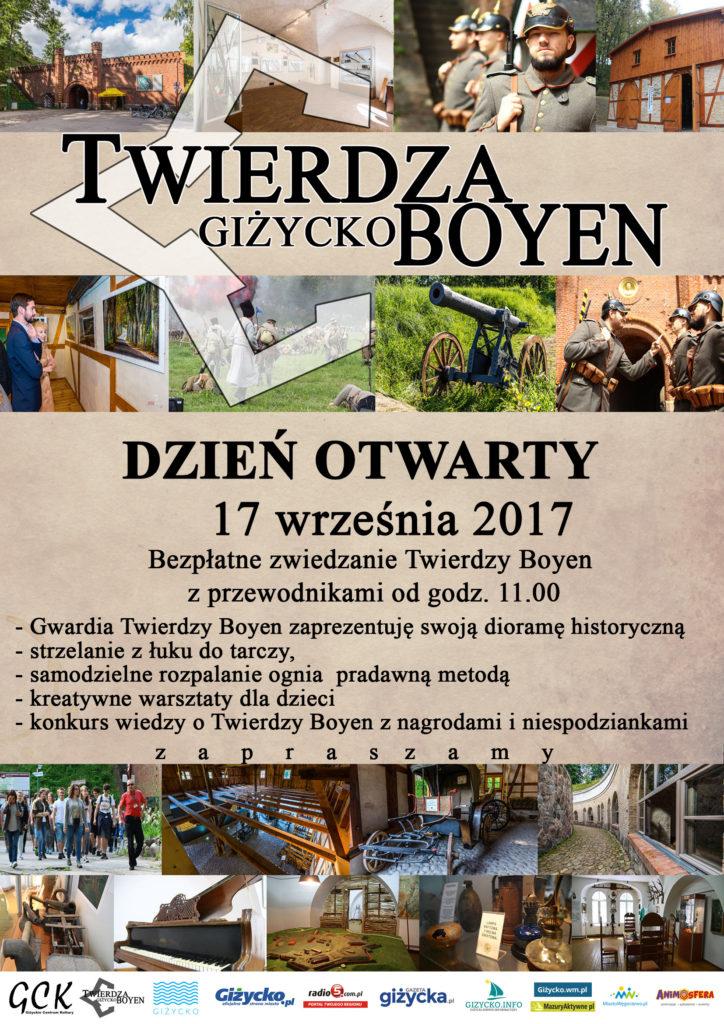 Dzień Otwarty Twierdzy Boyen 2017